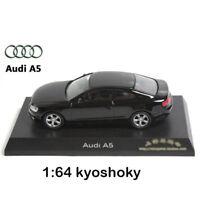 Black Kyosho 1:64 AUDI A5 Diecast Model Car Mint 1/64 2007 limited edition