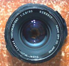 Pentax 6x7 SMC Takumar 90mm f/2.8 LS Lens, Pentax 67 US SELLER