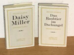 Sammlung Dieterich Band 309 - 310  Henry James Erzählungen 1 + 2 Daisy Miller