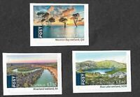Australia-Ramsar Wetlands set self-adhesive mnh 2021
