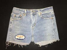 "Levi's 519 Low Stretch Cut-Off Denim ""PUT-IN-BAY OHIO"" Shorts Size 5"