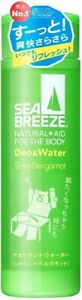 Shiseido SEA BREEZE Deo & Water Shiny Bergamot 160ml Japan import NEW