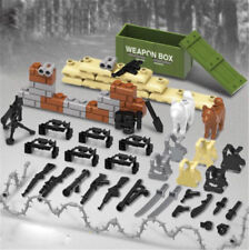 Modern Military Weapon Accessories Packs for Building Blocks Bricks Figures Toy
