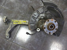 *VW PHAETON 3.0 TDI 02-10 DRIVER O/S FRONT COMPLETE HUB CARRIER W/ WHEEL BEARING