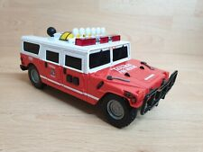 Tonka Fire Rescue Hummer w/Lights, Sounds - working - moves back and forward