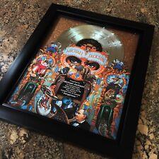 Michael Jackson Dangerous Platinum Record Album Disc Music Award RIAA MTV Grammy