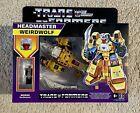 Transformers G1 Headmaster Weirdwolf Reissue Walmart Exclusive