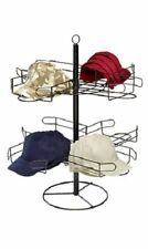 Cap Hat Rack Display Countertop Baseball Sports 2 Tier Holds 48 Hats Retail