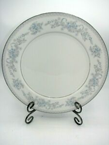"Dresden Rose L9009  MIKASA 12"" Chop Plate/Round Platter Silver Trim  Perfect"