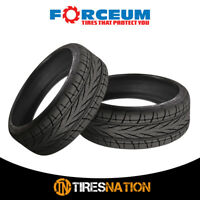 (2) New Forceum HEXA-R 205/45R18 90YR Ultra High Performance Tires