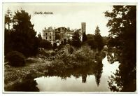 Antique RPPC real photograph postcard Castle Antrim Northern Ireland