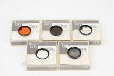 Ricoh GR Filter Set for Ricoh GR1S / GR1V with packing (SL, Orange, ND4 & PL)