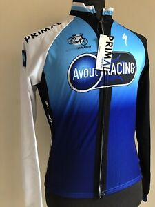 Primal Wear Cycling Jersey Heavyweight Team AVOUT RACING Size Small