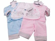 Pyjamas rose coton mélangé pour fille de 0 à 24 mois