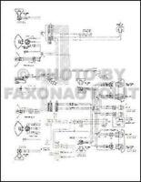 1974 Chevy El Camino GMC Sprint Wiring Diagram Foldout Chevrolet Electrical