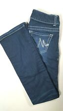 MAURICES Womens JEGGING Low Rise Slim Boot Cut Jeans Dark Wash Size XS Regular