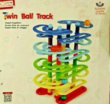 Wooden Educational Toys Twin Ball Track