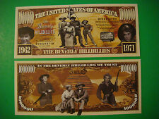 BEVERLY HILLBILLIES TV Show <> $1,000,000 One Million Dollar Bill ~ USA Comedy