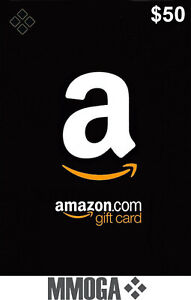 $50 US Dollar Amazon Prepaid Card - 50 USD Digital Code - [US] ship now!