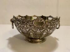"ORNATE SILVER PLATED BOWL BY RAIMOND RING OPENING 5"" TALL Vintage"