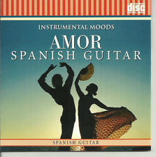 AMOR SPANISH GUITAR INSTRUMENTAL ROMANTIC RELAXATION MUSIC CD