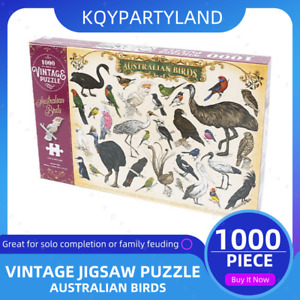 1000PCS Kids Jigsaw Puzzle AUSTRALIAN BIRDS Adults Activity Learning Toy Games