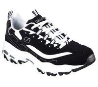 52675 W Wide Fit Black Skechers shoe Men Memory Foam Sport Comfort Casual DLites