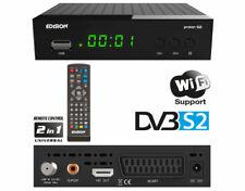 Edision Protón S2 DVB-S2 Full HD 1080p abierto τo-Aire Satélite Receptor USB WIFI