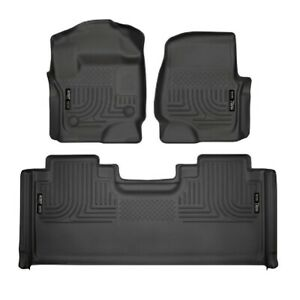 Husky Liners 94071 Front & 2nd Seat Floor Liner for Ford F-250/F-350/F-450