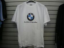 56c1ffd8a3f0 BMW WHITE LOGO ULTIMATE DRIVING MACHINE T SHIRT