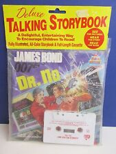 very rare SEALED old vintage DR NO james bond TAPE talking STORYBOOK retro 198