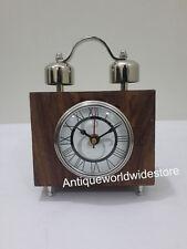 Nautical Maritime Wooden Vintage Desk /Table Clock Home Decor