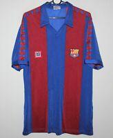 Rare Vintage Barcelona Barca Spain home shirt 84/89 Meyba Size G/L