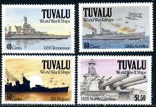 Tuvalu 1991 Second World War Ships (MNH)