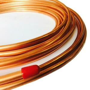 """Stylarize Copper Brake Pipe 3/16"""" 1/4"""" 6mm 8mm Multi Choice Max Length 25 Ft"""