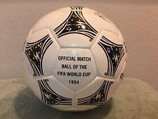 Adidas World Cup 1994 Usa Questra Match Soccer ball Size 5 Brazil Ronaldo