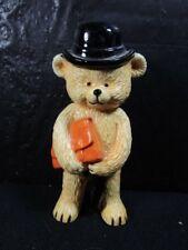 "Danbury Mint Teddy Bears Collection "" Businessman Bear "" Very Detailed Figure"