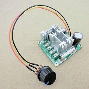 6V-12V-24V-36V-40V-60V-90V / 15A DC Motor Speed Control PWM Controller New