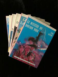# lot 6 livres - Série LE MYSTERE DE... - Enid Blyton - Bibliothèque Rose