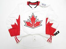 TEAM CANADA WHITE AUTHENTIC PRO 2016 WORLD CUP OF HOCKEY ADIDAS HOCKEY JERSEY