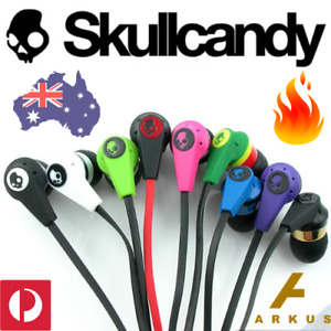 SKULLCANDY INK'D Inkd Wired EARBUDS Earphones MIC 3.5mm iPhone Samsung Android