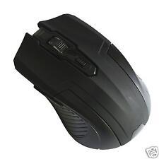 ! nuevo! Evo Labs E-420 5 botones del ratón Negro Óptico Inalámbrico 2.4GHz para PC y Mac