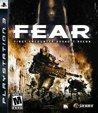 F.E.A.R First Encounter Assault Recon PS3 Fear