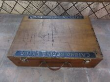 Vintage Regina Extra wood box .L'Eroica.Cycling year 1967.very rare.