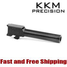 KKM Precision Match Grade Stainless Steel Barrel for Glock 19 9mm - Blacknitride