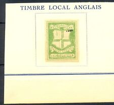 ENGLAND LOCAL -FOURNIER FORGERY AFFIXED TO PAGE 1 x ST -MARKED FAUX