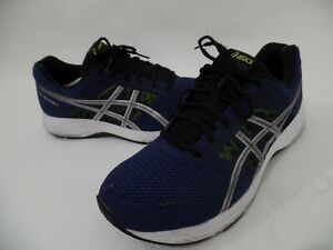 ASICS Mens Size 13 Gel-Contend 5 1011A256 Blue White Running Shoes EXTRA WIDE