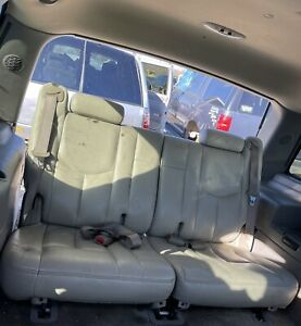01-06 Chevy Tahoe GMC Yukon Cadillac Escalade Third 3rd Row Seats Tan Leather