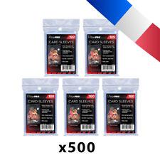 Lot de 500 pochettes Ultra Pro pour cartes Soft Card Sleeves JCC Pokemon, Magic