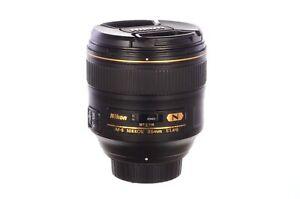 Nikon 85mm f1.4 AF-S G N, superb! 6 month guarantee